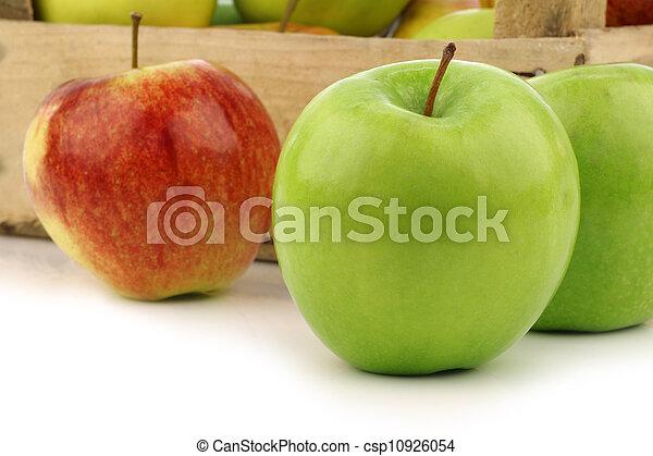 assorted fresh apples - csp10926054