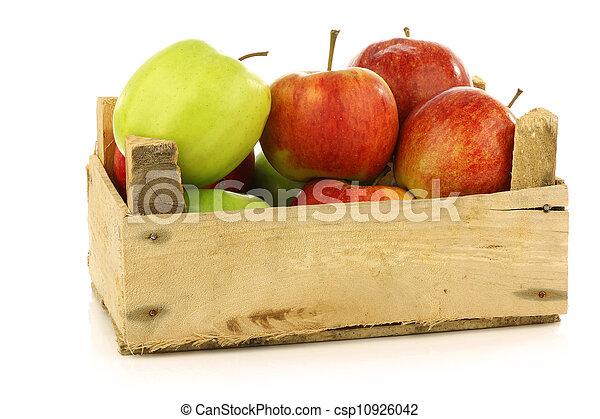 assorted fresh apples - csp10926042