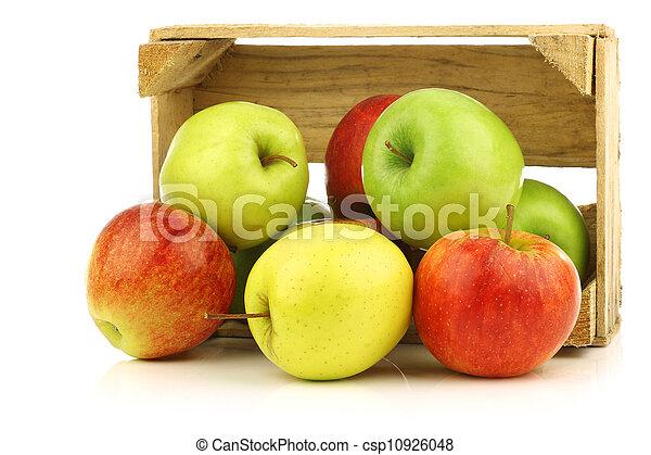 assorted fresh apples - csp10926048