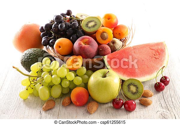 assorted fresh fruit - csp61255615