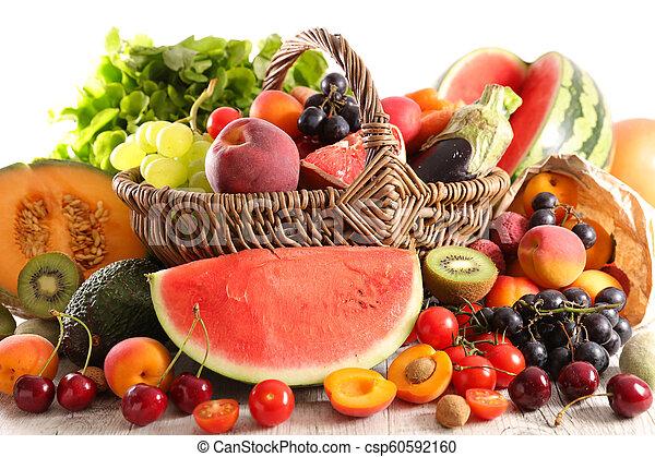 assorted fresh fruit - csp60592160