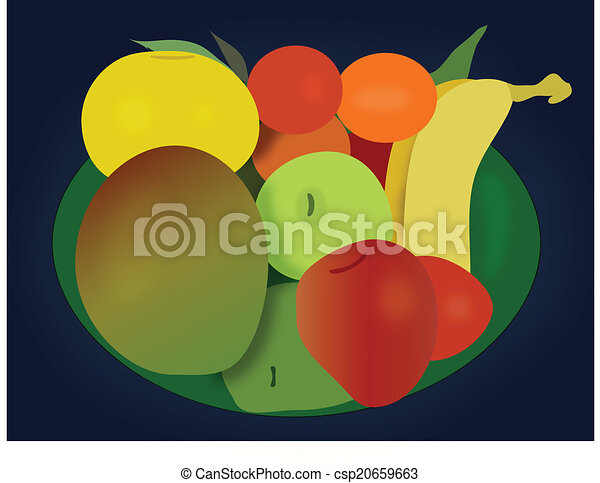 Assorted Fruit Bowl - csp20659663