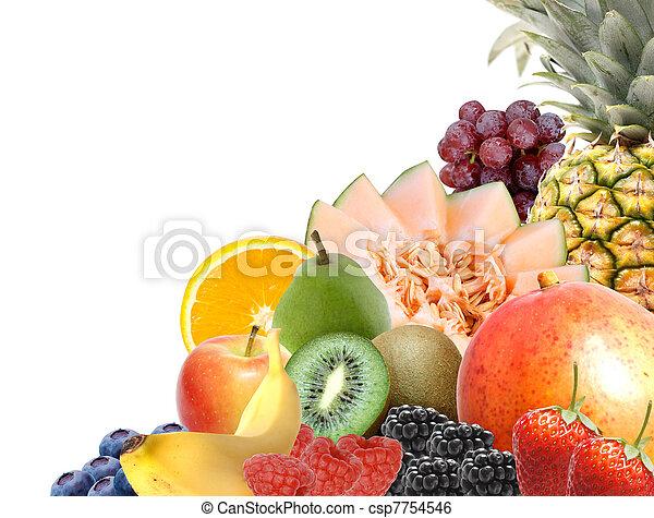 Assorted fruit - csp7754546