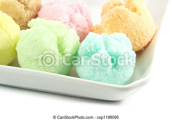 Assorted Ice Cream Flavors - csp1198095