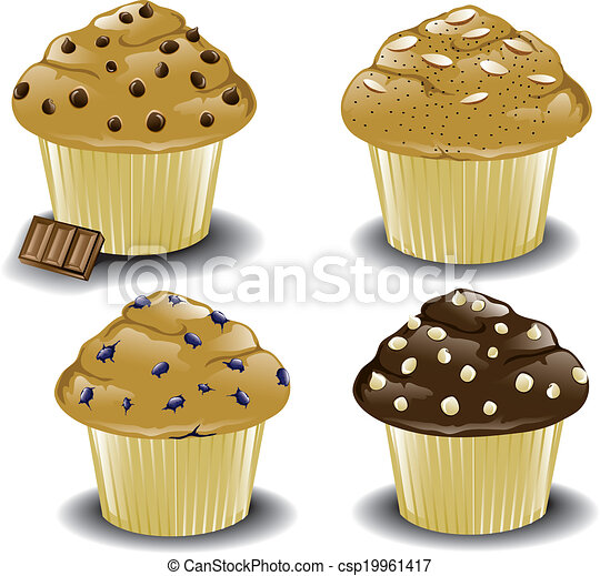 Assorted Muffins - csp19961417