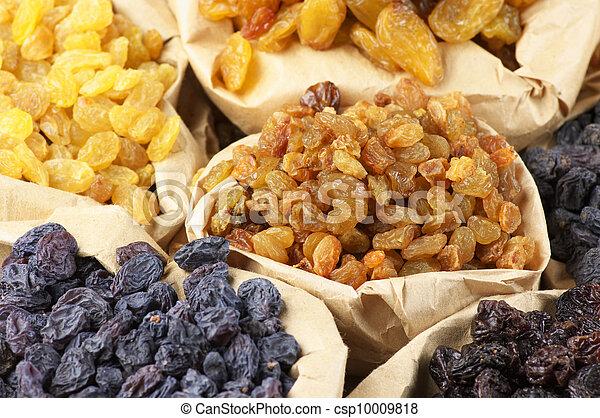 Assorted raisins - csp10009818