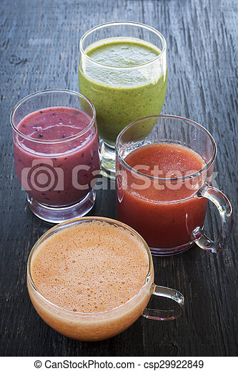 Assorted smoothies - csp29922849