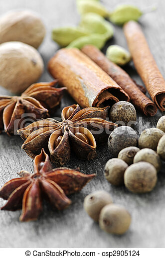 Assorted spices - csp2905124