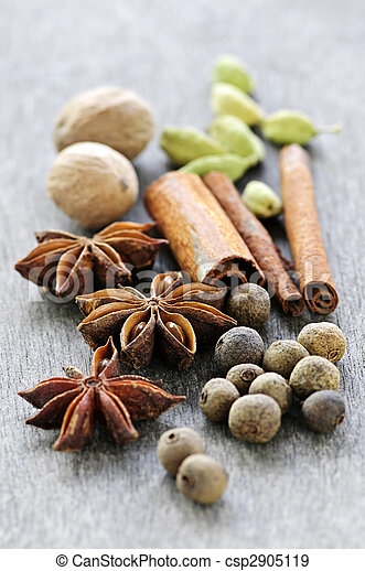 Assorted spices - csp2905119