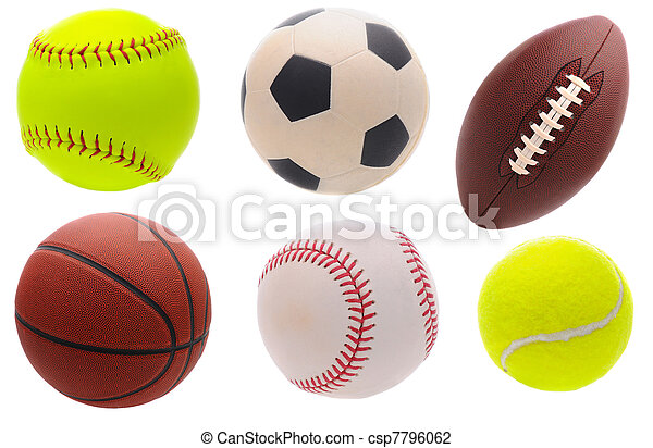 Assorted Sports Balls - csp7796062