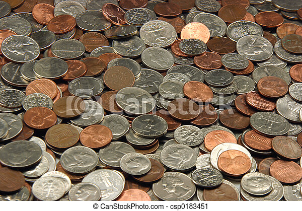 Assorted US Coins - csp0183451