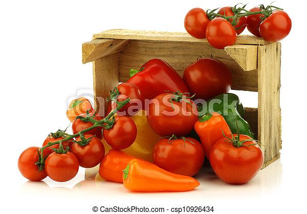 assorted vegetables - csp10926434