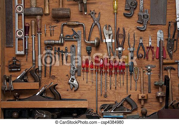 assortiment, gereedschap - csp4384980