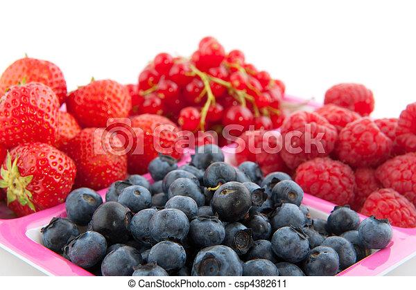 assortment fresh fruit - csp4382611