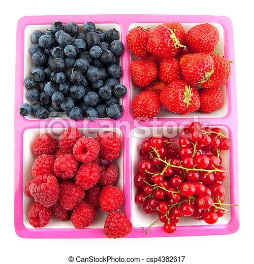 assortment fresh fruit - csp4382617