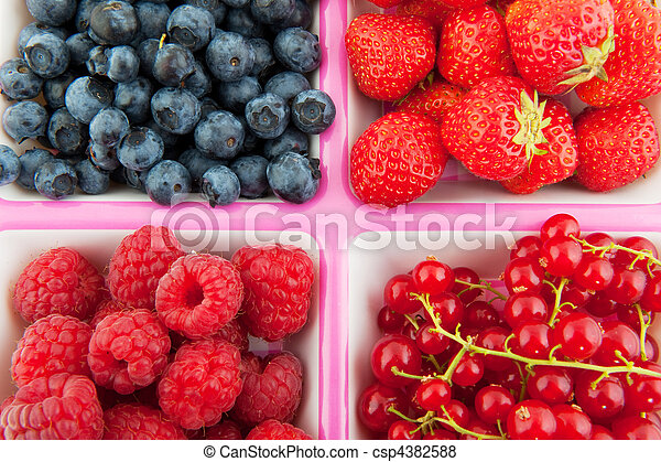 assortment fresh fruit - csp4382588