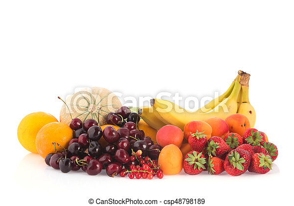 Assortment fresh fruit - csp48798189