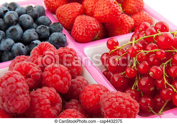 assortment fresh fruit - csp4432375