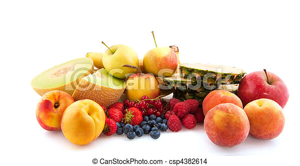 assortment fresh fruit - csp4382614