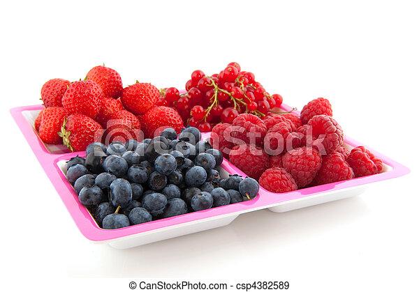 assortment fresh fruit - csp4382589