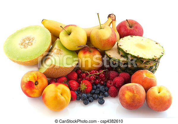assortment fresh fruit - csp4382610