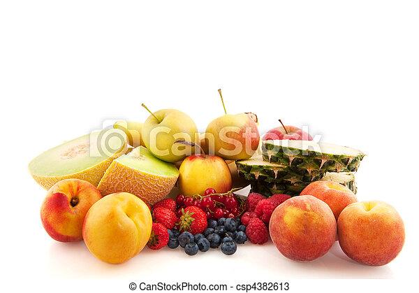 assortment fresh fruit - csp4382613