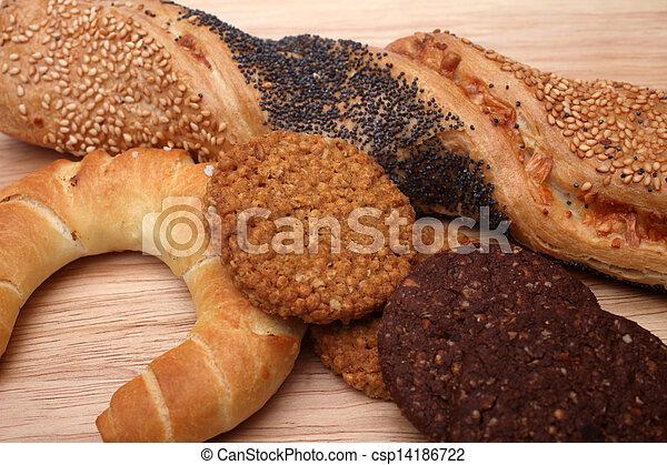 Assortment of baked bread - csp14186722