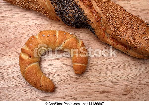 Assortment of baked bread - csp14186697