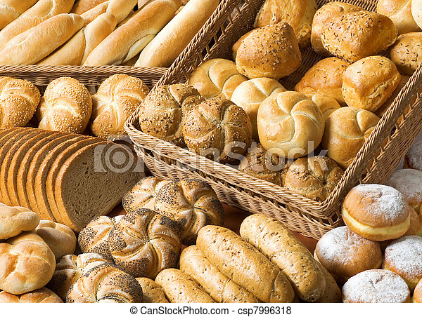 Assortment of baked products - csp7996318