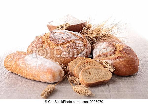 assortment of bread - csp10226970