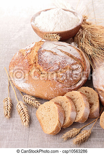 assortment of bread - csp10563286