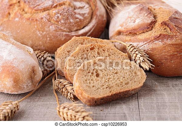 assortment of bread - csp10226953