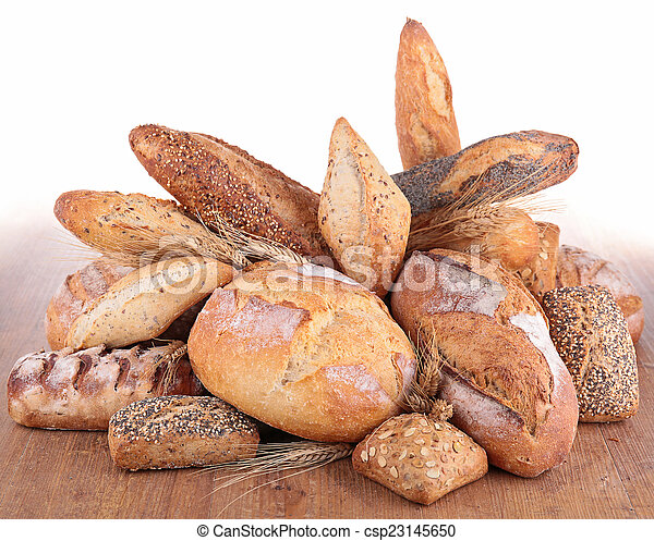 assortment of bread - csp23145650