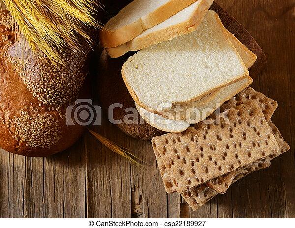 assortment of bread - csp22189927