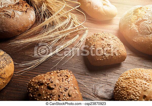 assortment of bread - csp23870923