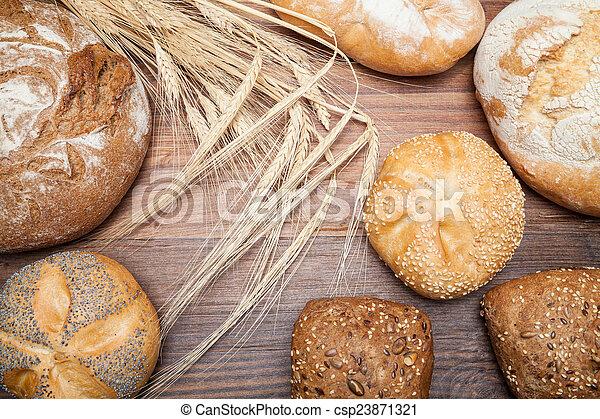 assortment of bread - csp23871321