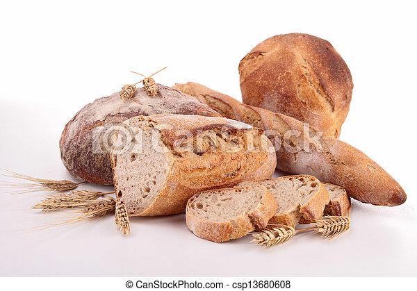 assortment of bread - csp13680608