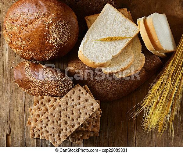 assortment of bread - csp22083331