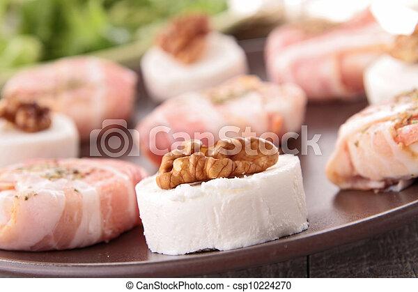assortment of cheese, appetizer - csp10224270