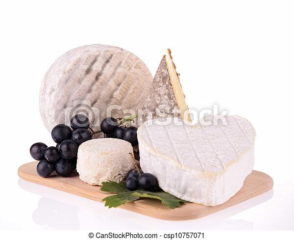 assortment of cheese - csp10757071