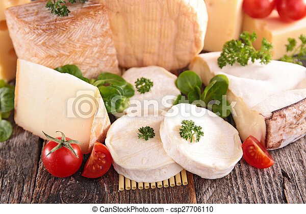 assortment of cheese - csp27706110