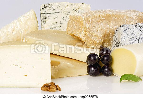 Assortment of cheese - csp29555781