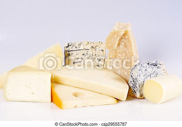 Assortment of cheese  - csp29555787