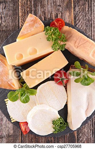 assortment of cheese - csp27705968