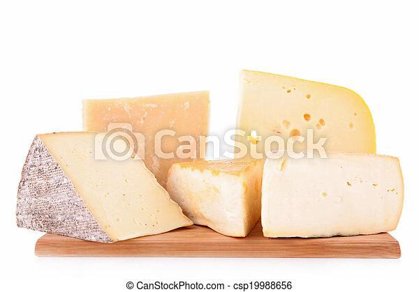 assortment of cheese - csp19988656