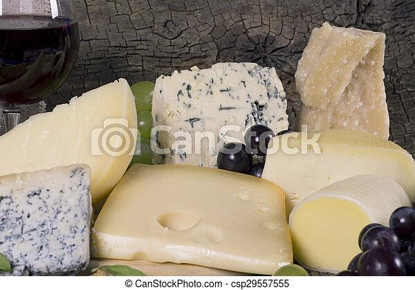 Assortment of cheese - csp29557555