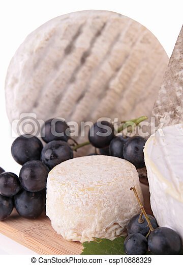 assortment of cheese - csp10888329