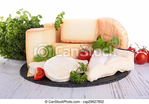 assortment of cheese - csp29627802