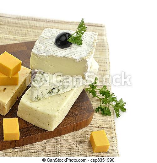 Assortment of Cheese - csp8351390