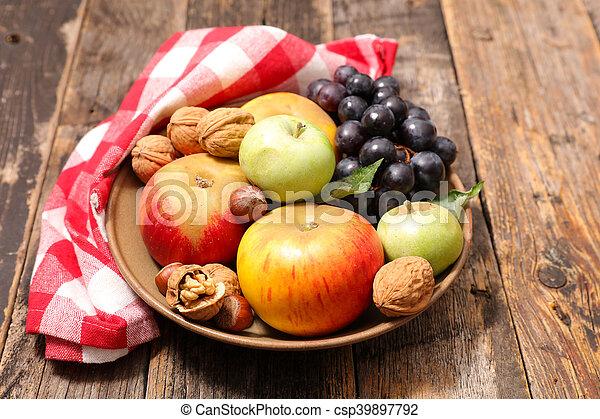 assortment of fresh fruit - csp39897792